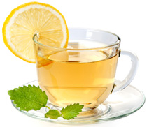 For a fresh start!   Have a cup of green tea.